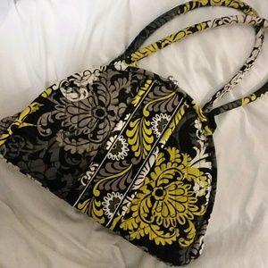Vera Bradley Bags - Vera Bradley Purse Handbag Black White Yellow